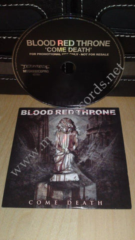 Blood Red Throne - Come Death (cd promo)