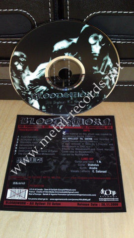 Bloodsworn - All Hyllest Til Satan (cd promo)