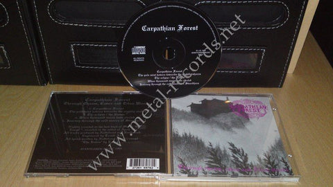 Carpathian Forest - Through Chasm, Caves And Titan Woods (cd)
