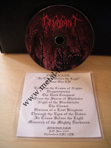 Covenant - In Times Before The Light (cd promo)