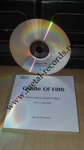 Cradle Of Filth - Damnation And A Day (Advance cd)