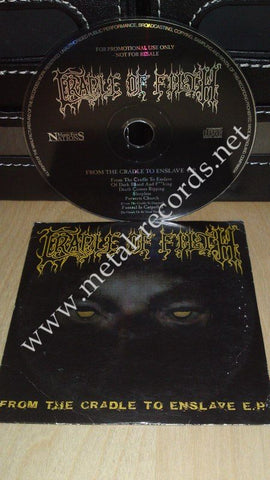 Cradle Of Filth - From The Cradle To Enslave E.P. (cd promo)
