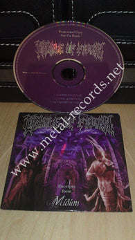 Cradle Of Filth - Midian (cd promo)