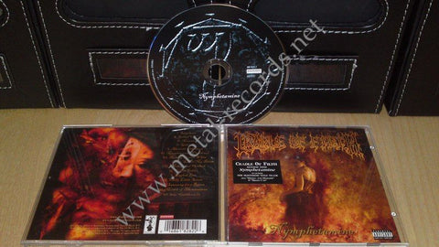 Cradle Of Filth - Nymphetamine (cd)
