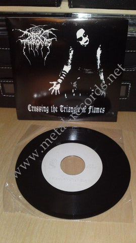 "Darkthrone - Crossing The Triangle Of Flames (7"")"