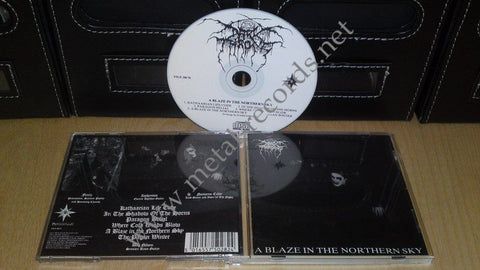 Darkthrone - A Blaze In The Northern Sky (white cd)