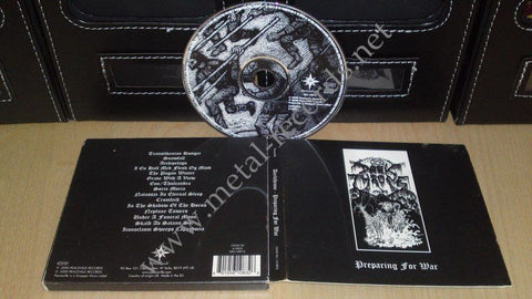 Darkthrone - Preparing For War (cd digi)