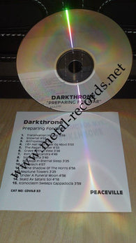 Darkthrone - Preparing For War (cd promo)