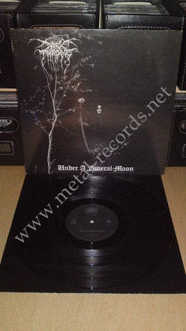 "Darkthrone - Under A Funeral Moon (12"", 1st press)"