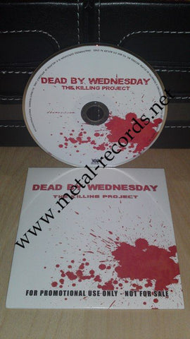 Dead By Wednesday - The Killing Project (cd promo)