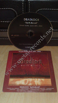 Deadlock - Earth.Revolt (cd promo)