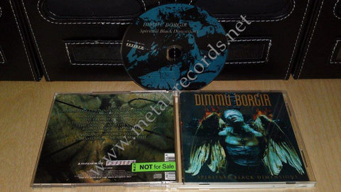 Dimmu Borgir - Spiritual Black Dimesnsions (cd promo, korean)