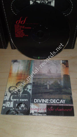 Divine:Decay - Songs Of The Damned (cd promo)