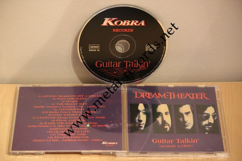 Dream Theater - Guitar Talkin' (cd)
