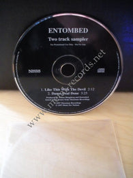 Entombed - Like This With The Devil (2 track cd promo)
