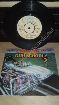 "Girlschool - Race With The Devil (7"")"