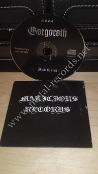 Gorgoroth - Antichrist (cd promo, Malicious records)