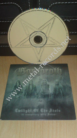 Gorgoroth - Twilight Of The Idols (cd promo)