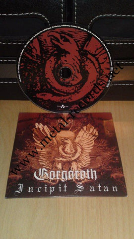 Gorgoroth - Incipit Satan (cd promo)