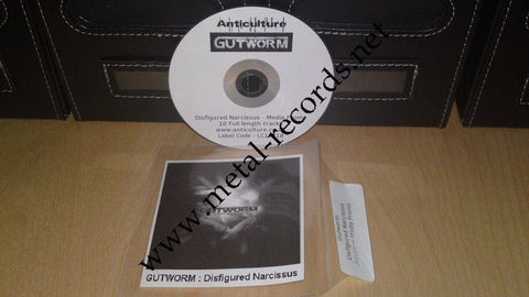 Gutworm - Disfigured Narcissus (advance cdr)