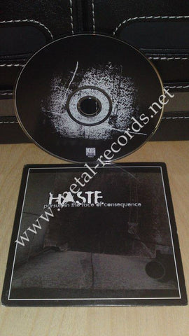 Haste - Pursuit In The Face Of Consequence (cd promo)