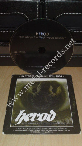 Herod - For Whom The Gods Would Destroy (cd promo)