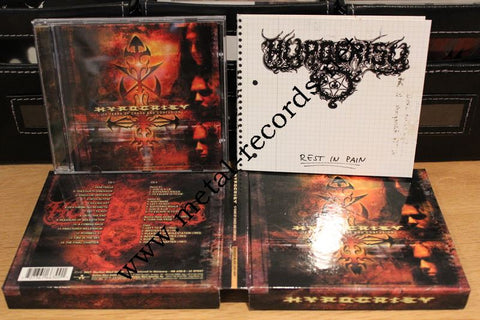 Hypocrisy - 10 years Of Chaos And Confusion (cd box)