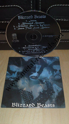 Immortal  - Blizzard Beasts (cd promo)
