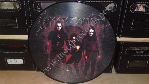 "Immortal - Damned In Black (12"" PD)"