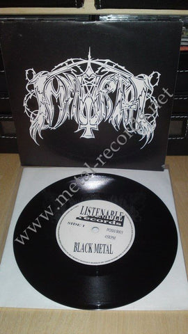 "Immortal - Immortal (1st press, 7"")"