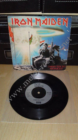 "Iron Maiden - 2 Minutes To Midnight (7"")"