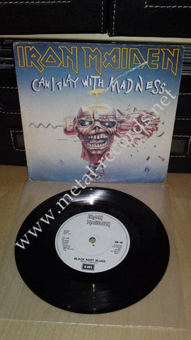 "Iron Maiden - Can I Play With Madness (7"")"