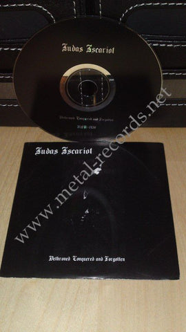 Judas Iscariot - Dethroned, Conquered And Forgotten (cd promo)