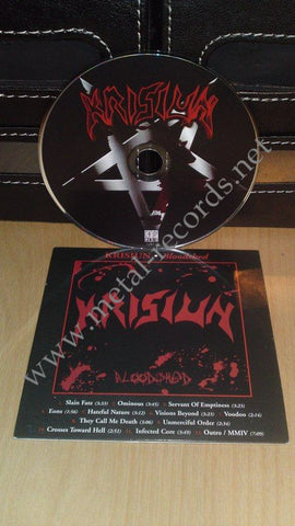Krisiun - Bloodshed (cd promo)