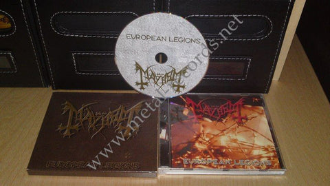 Mayhem - European Legions (cd w slipcase)