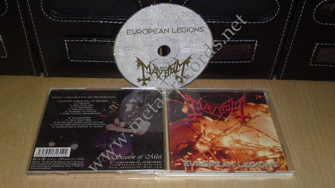Mayhem - European Legions (cd)