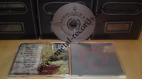 Megadeath - Cryptic Writings (cd)
