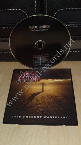 Metal Church - This Present Wasteland (cd promo)