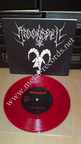 "Moonspell - Goat On Fire (7"")"