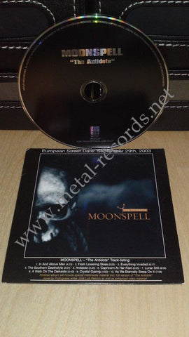 Moonspell - The Antidote (cd promo)