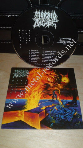 Morbid Angel - Formulas Fatal To The Flesh (cd promo)