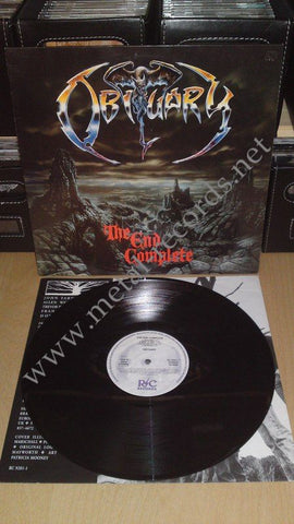 "Obituary - The End Complete (12"")"