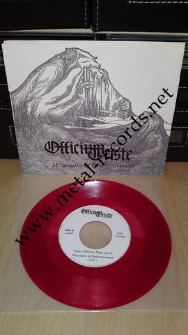 "Officium Triste - Mountains Of Depressiveness (7"")"