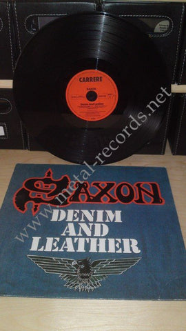 "Saxon - Demin And Leather (12"")"