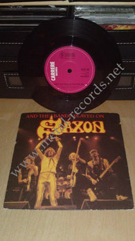 "Saxon - And The Bands Played On (7"")"