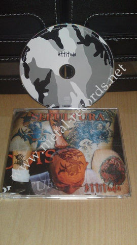 Sepultura - Attitude (cd single)