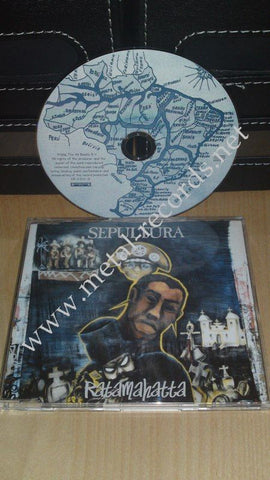 Sepultura - Ratamahatta (cd single)