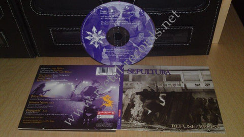 Sepultura - Refuse / Resist (cd, digi)