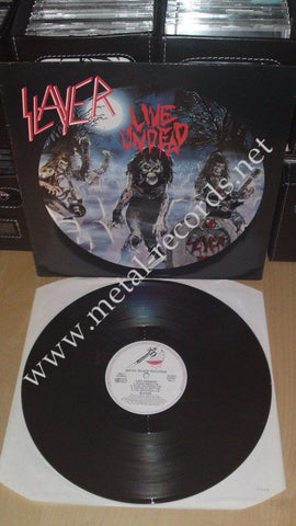 "Slayer - Live Undead (12"")"