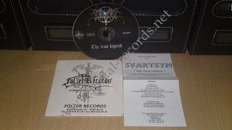 Svartsyn - The True Legend (cd promo)